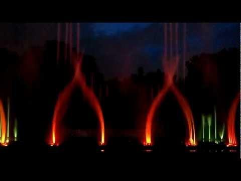 Musical Fountain at Victoria Memorial Kolkata