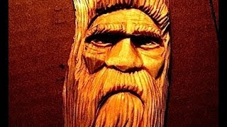 Full Wood Spirit Carving Tutorial By D.m.allen How To Carve A Face