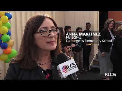 Fernangeles Elementary School Ribbon CuttingLS 2019 19