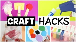 8 MUST-TRY CRAFTING LIFE HACKS!