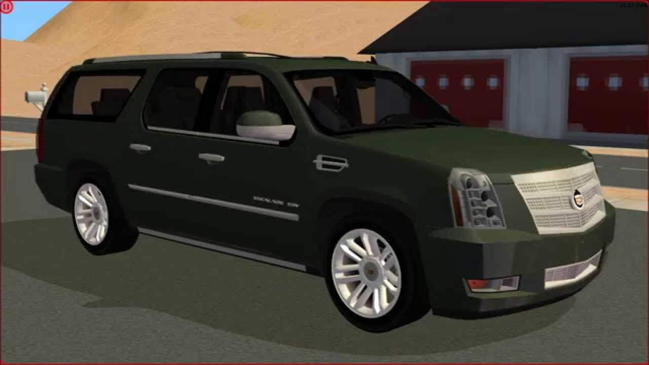 Sims 2 Car Conversion By Vovillia Corp 2013 Cadillac