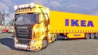 Scania R700 ETS2 (Euro Truck Simulator 2)(Scania R700 mod for ETS2 ▻ Euro Truck Simulator 2 You can follow me here: Facebook ▻https://facebook.com/BINGH0ST Twitch ▻https://twitch.tv/bingh0st ..., 2014-12-07T17:14:48.000Z)
