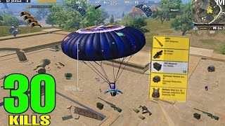 BEST LANDING OF SEASON 14!! | 30 KILLS SOLO VS SQUAD | PUBG MOBILE
