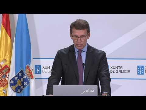 Feijóo anuncia las nuevas restricciones en Galicia 21.7.21