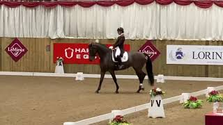 Becky Moody Freestyle at Hartpury Nation GP Champs 2020