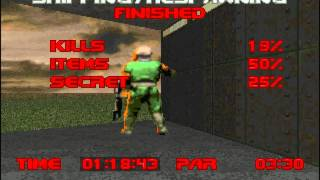 Final Doom: TNT Evilution Speedrun, SS in 52:36