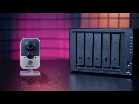 Настройка видеонаблюдения с помощью Synology Surveillance Station.