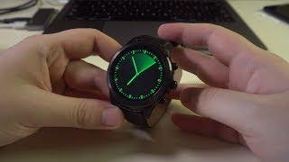 Finow X5 Plus обзор. Крутые китайские часы на Android с круглым циферблатом и кожаным ремешком!