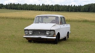 1968 Moskvich 408/412 Test Drive After 7 Years (1080p)