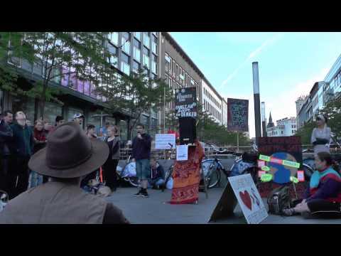 5. Mahnwache für Frieden - Hannover 5.5.2014 3v6