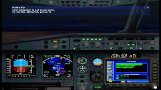 FS2004 SWISS A320 Flight from Zurich to Paris