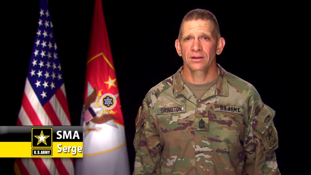 Sergeant Major of the Army, Michael A. Grinston, shares how the Army is taking action to enhance energy resilience and increase readiness.