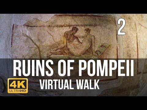 Pompeii Walking Tour in 4K Part 2