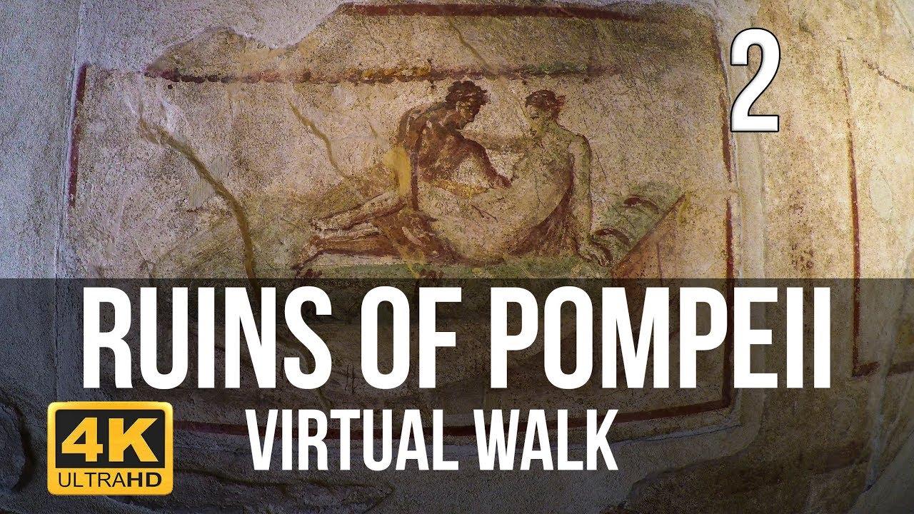 Pompeii Walking Tour in 4K Part 2