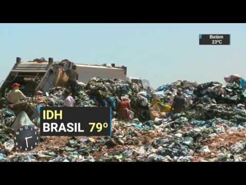 Brasil se mantém na 79ª posição em ranking de IDH - SBT Notícias (22/03/17)