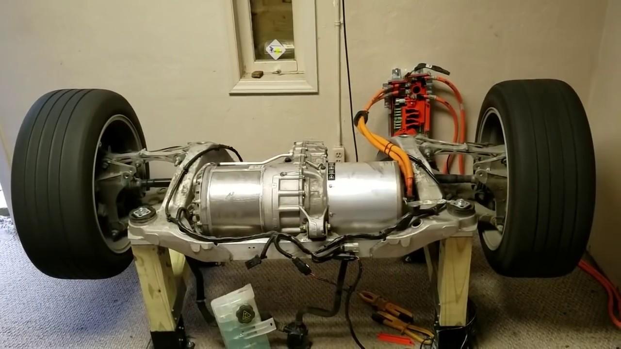 Tesla motoru nas l al r youtube for Electric motor test bench