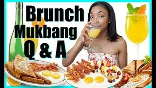 Q & A Brunch Mukbang - Do I MISS MY EX ??!!  | Brittany Daniel