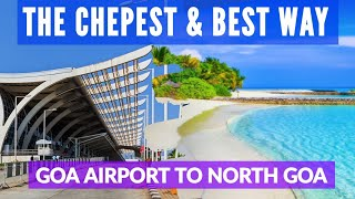 Travel from Goa Airport (GOI) to Panjim, Calangute, North Goa | Rs.150 Shuttle Bus Service Timings