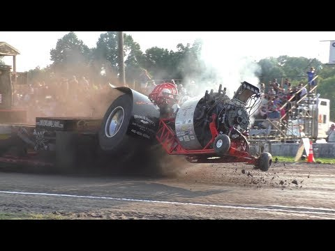 Wild Multi Engine Modified Tractors Pulling At Bel Air, MD