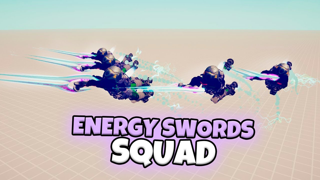 ENERGY SWORDS SQUAD VS EVERY FACTION. SPACE WARRIORS | TABS MODDED GAMEPLAY