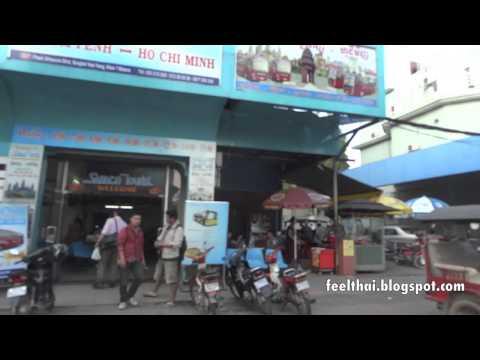 SAPACO bus office in Phnom Penh