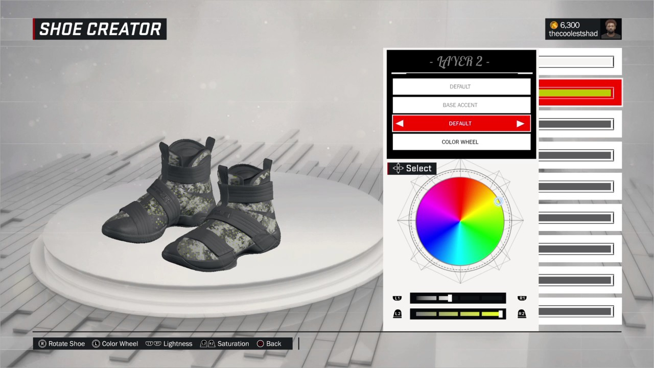 a7260c8faa19a How to make lebron shoes on 2k 17 - YouTube