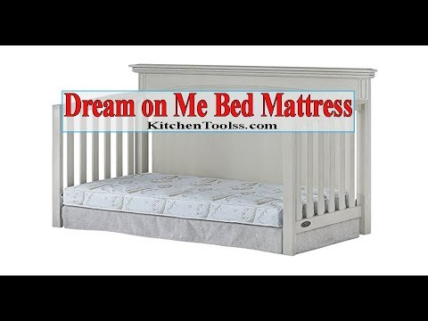 Dream On Me Spring Crib And Toddler Bed Mattress