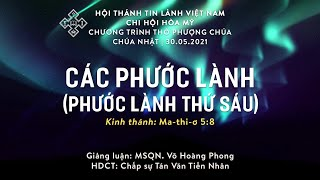 HTTL HÒA MỸ - Chương Trình Thờ Phượng Chúa - 30/05/2021
