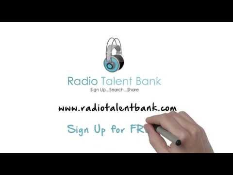 Radio Talent bank