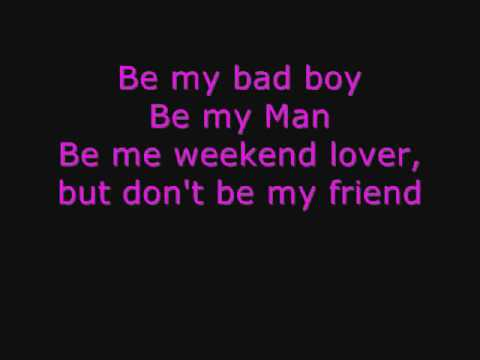 You are my bad boy song