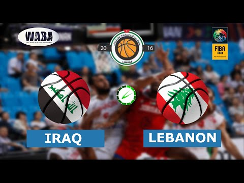 Iraq vs Lebanon (88-87 After Double OT) Highlights - West Asia Basketball Championship 2016