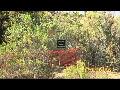 ALISO CANYON PARK TRAIL PORTER RANCH