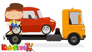 doc mcwheelie cartoon car doctor tow truck breakdown car repairs kid s cartoons