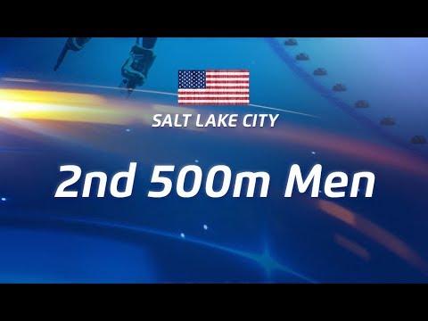 4th ISU Speed Skating World Cup Salt Lake City, 2nd 500m Men (December 9, 2017) Арена HD