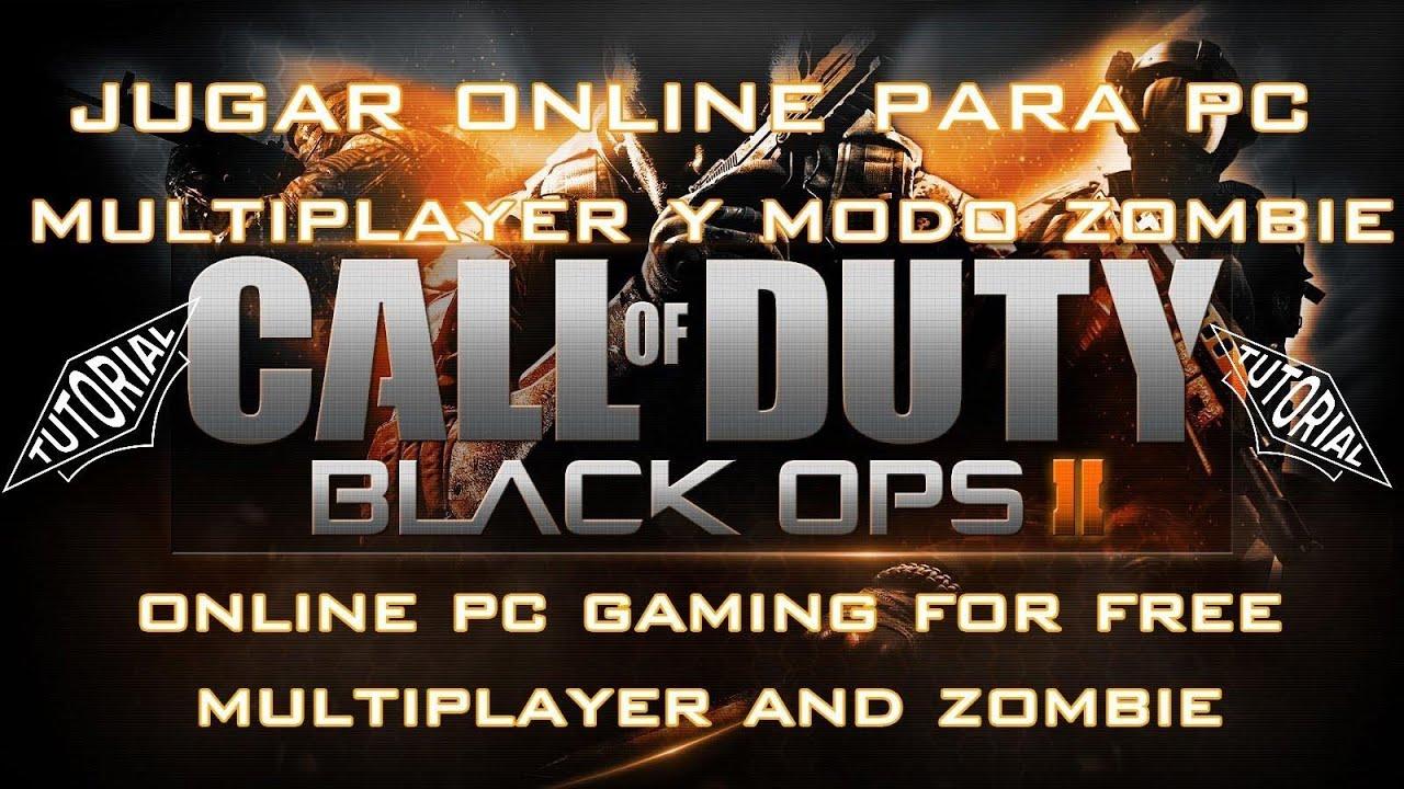 como jugar call of duty black ops 2 zombies solo pc