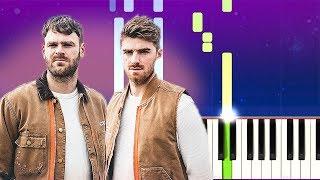 The Chainsmokers - Push My Luck (Piano tutorial) видео