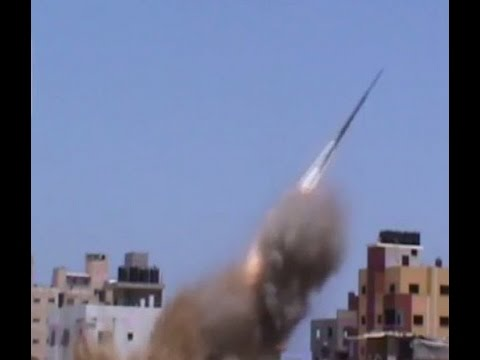 Hamas Fires Missiles From Densely Populated Areas in Gaza