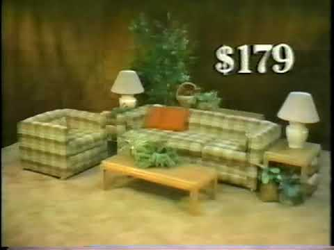 1985 Cort Furniture Rental Clearance Center Youtube