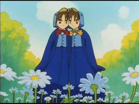 Sakura in Wonderland - Tweedle Dee/Tweedle Dum (Syaoran)