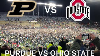 OHIO STATE MADNESS IN THE BOILER BLACKOUT!!! | Purdue Football 2018