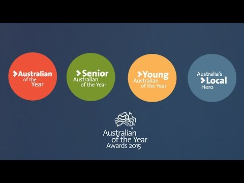 Australian of the Year Awards 2015 presentation