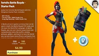*NEW* How to Get STARTER PACK #3 (RELEASE DATE) Fortnite Battle Royale Starter Pack FREE #SoarRC