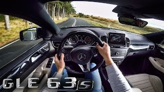 Mercedes-AMG GLE 63 S Coupe 4Matic POV Test Drive