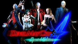 Devil May Cry 4: Special Edition (PC) - All characters costumes - gameplay