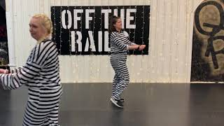 "DANCE CARDIO - ""LOCKED UP"" (ROUTINE 2) - OFF THE RAILS ONLINE"