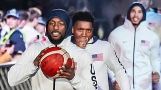 Team USA & Team Australia - Players Introductions | 2019 USA Basketball