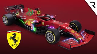 What's new on Ferrari's 'radically changed' 2021 F1 car
