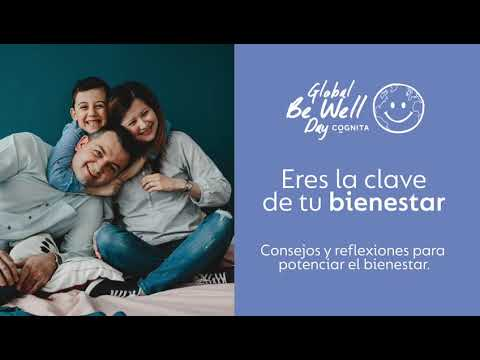 Global Be Well Day: Charla Eres la clave de tu bienestar