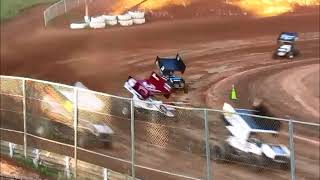 6 30 18 Sprintcars @ Placervile Speedway  part 1