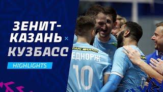 Приземлили «Кузбасс»   «Зенит-Казань» - «Кузбасс»   Highlights. Zenit-Kazan - Kuzbass